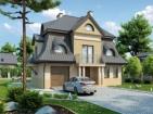 Проект элегантного двухэтажного дома